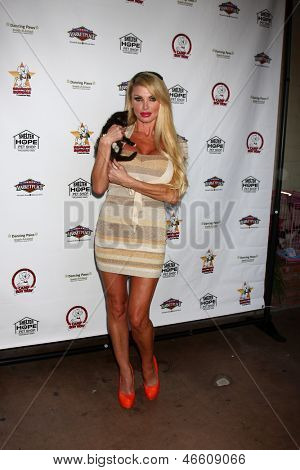 LOS ANGELES - JUN 3:  Taylor Wane at the Player Concert celebrating Devin DeVasquez 50th Birthday to benefit Shelter Hope Pet Shop at the Canyon Club on June 3, 2013 in Agoura, CA