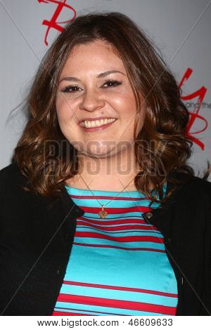 LOS ANGELES - JUN 4:  Angelica McDaniel arrives at SAG-AFTRA Panel Discussion With The Cast Of