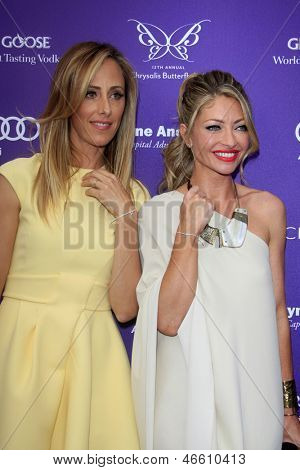 LOS ANGELES - JUN 8:  Kim Raver, Rebecca Gayheart arrives at the 12th Annual Chrysalis Butterfly Ball at the Private Residence on June 8, 2013 in Los Angeles, CA