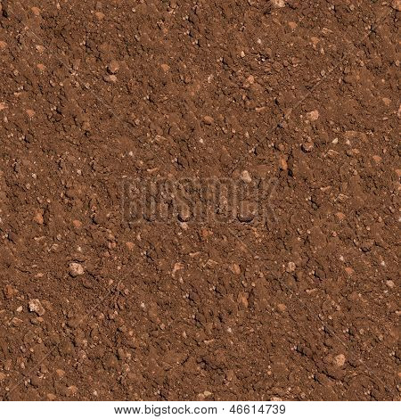 Soil. Seamless Texture.
