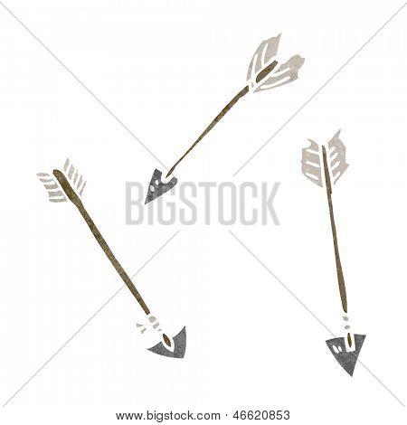 cartoon arrows