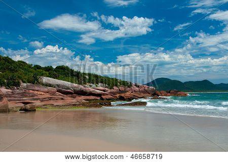 beaches in Florianopolis, Brazil