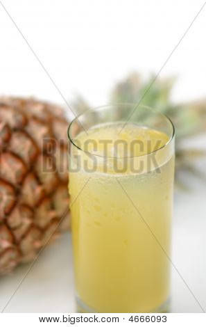 Pineapple And Juice Of Pineapple