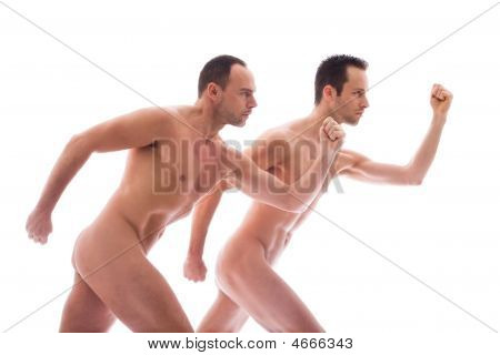 2 Men Run