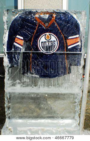 Edmonton Oilers jersey