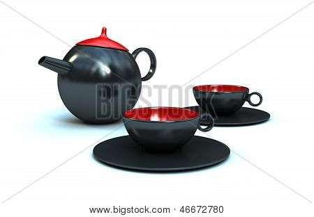 Ceramic Coffee/Tea Pot