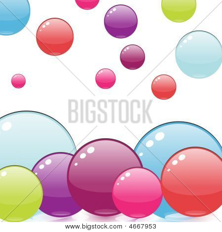 Colorful Bubbles Design