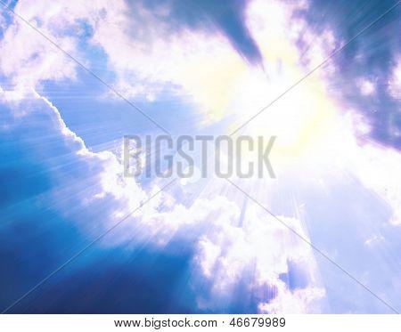 Beautiful Solar Sky