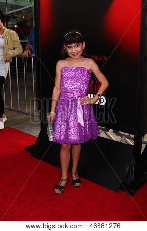 LOS ANGELES - JUN 11:  Chloe Noelle arrives at the