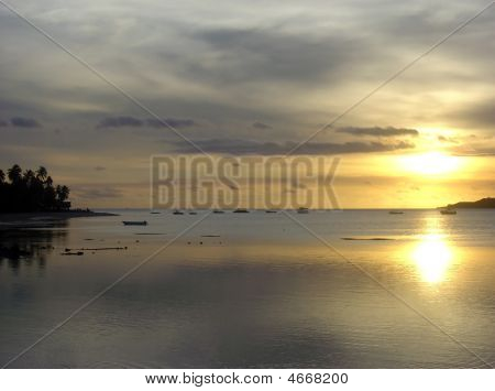 Fijian Sunset, Plantation (malolo) Island, Fiji