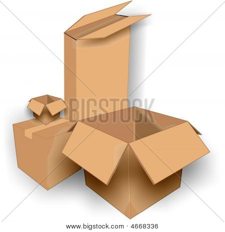 3D Multi Shaped Boxes