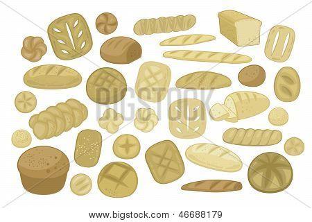 Various Breads Set