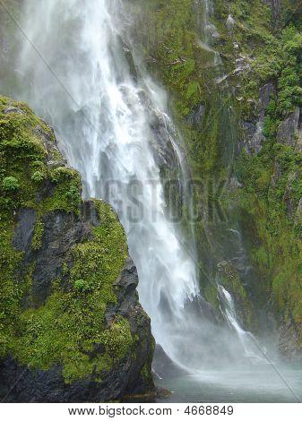 Bowen Falls, Milford Sound, New Zealand