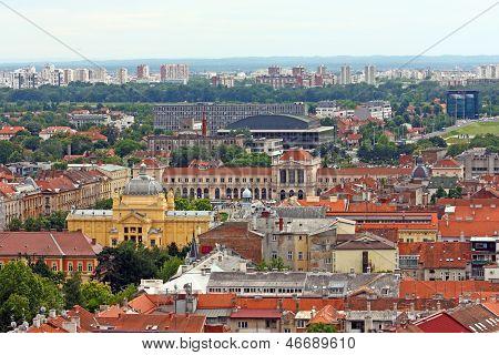 Cityscape Of Zagreb, Croatia