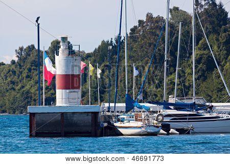 Lighthouse In Puerto Varas