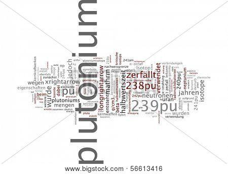 La palabra nube - plutonio