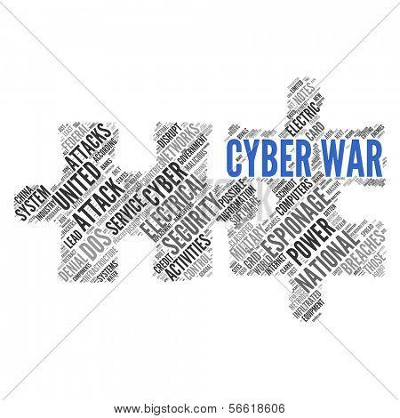 CYBERWAR   Concept Wallpaper