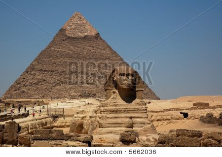 The Great Pyramid & The Sphinx