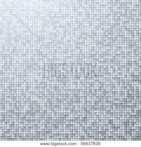 Fondo blanco brillo transparente con paillettes plata y negros brillantes. Fondo Sparkle glitter