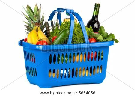 Filled Shopping Basket