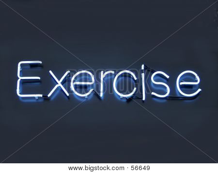 Neon Exercise
