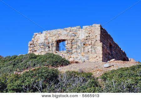 Ancient ruins in Crete, Greece