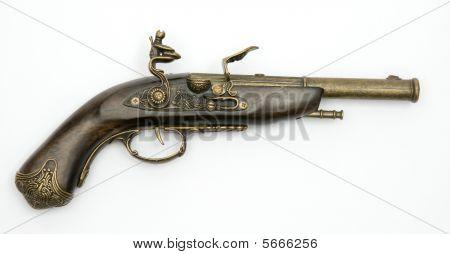 Old Flintlock Pistol