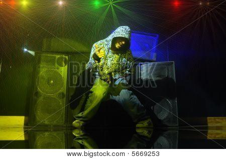Music In A Night Club