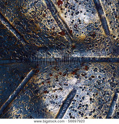 Forge ironmongery background.