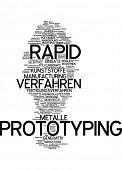 Word cloud - Rapid Prototyping poster