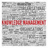 KNOWLEDGE MANAGEMENT | Concept Wallpaper poster
