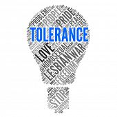 TOLERANCE | Modern Wallpaper poster