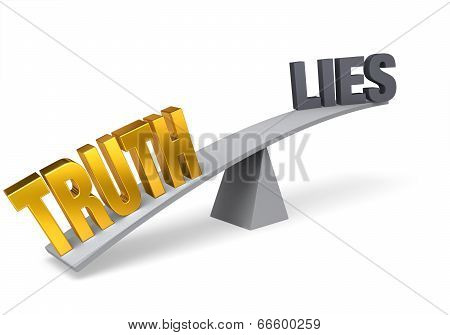 Truth Outweighs Lies