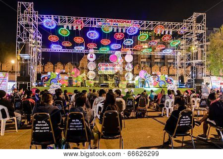 music show stage
