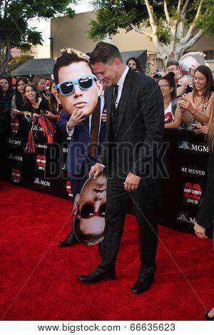 LOS ANGELES - JUN 10:  Jonah Hill, Channing Tatum at the