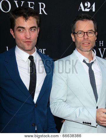 LOS ANGELES - JUN 12:  Robert Pattinson, Guy Pearce at the
