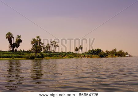 River Nile in Egypt