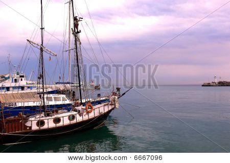 Yacht Mooring