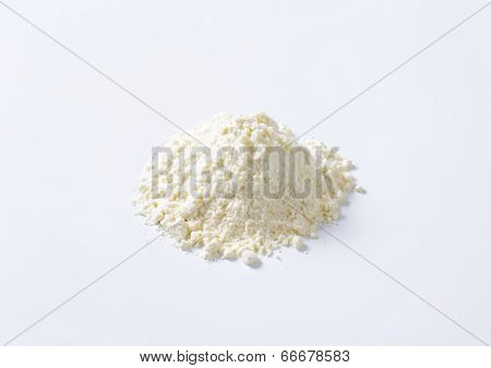 pile of all-purpose flour