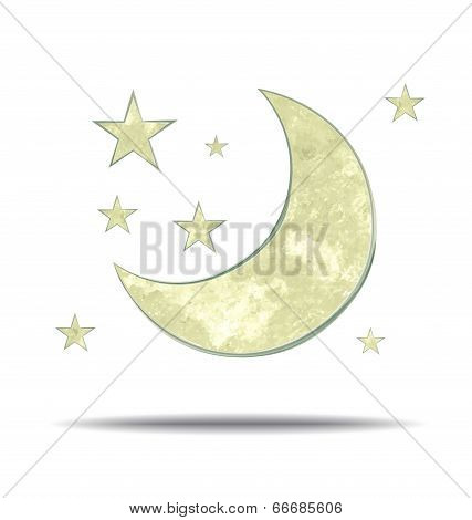Climate. Moon And Stars