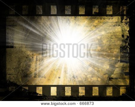 Abstract Film Strip Background