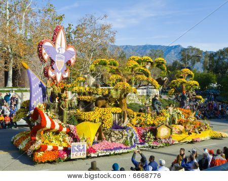Boy Scouts Of America 2010 Rose Bowl Parade Float