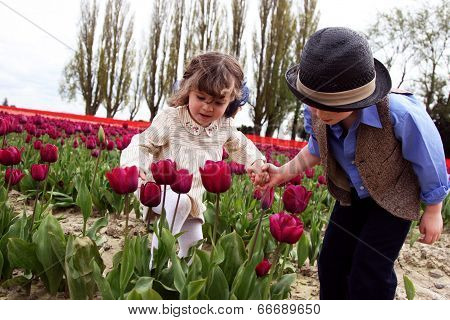 Smelling the Tulips Together