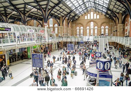 Concourse, Liverpool Street Station, London