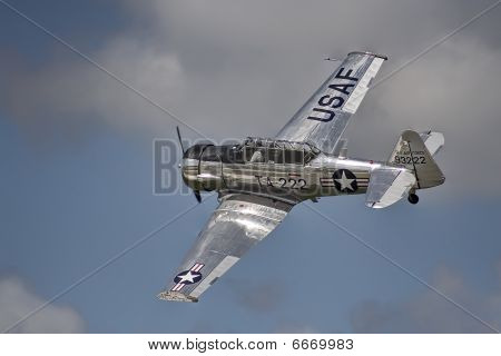 T-6 Texan flyby