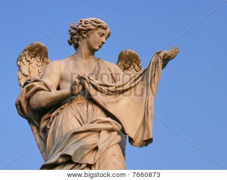 Angel with sudarium. Rome. Italy