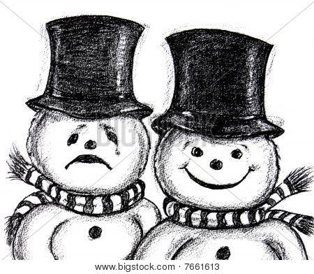 Comedy Drama Snowmen