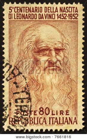 Leonardo Stamp