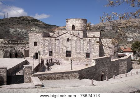 The Former Greek Orthodox Church Of Agia Eleni.sille,konya,turkey,