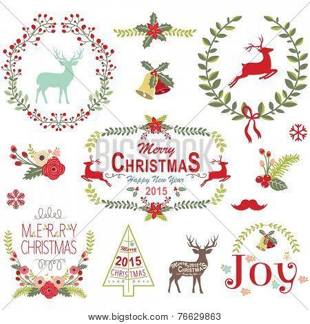 Christmas Wreath Frame Collection